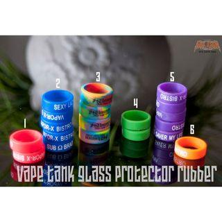 Rubber Tank Protector Vape Glass Cover Vapor Silicon Ring For 22mm 25mm Tank Mod