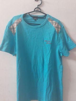 Blue T-shirt Burberry