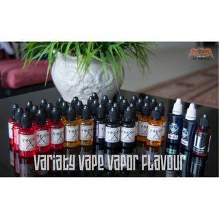 Variety Vape Vapor Flavor VAPORX LEWAN DOUBLE K