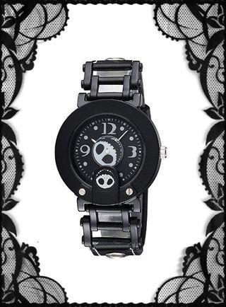 代購 全新迪士尼 jack skellington 轉轉頭 皮帶手錶(沒有現貨)