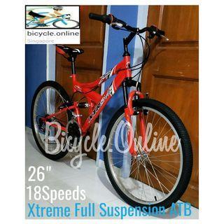 ad4293ed74e Full Suspension 18Speeds Mountain bike. Brand new bicycle, Xtreme *Taiwan