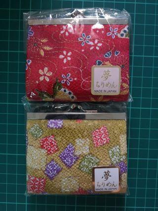 日本散錢包 made in japan
