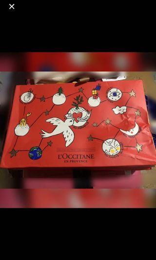 Loccitane歐舒丹2018聖誕🎄倒數日曆禮盒🎁