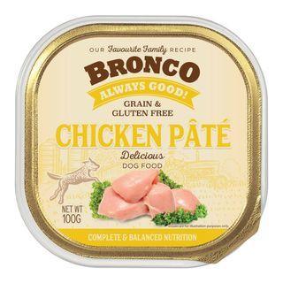 Bronco Dog Tray Food 100g