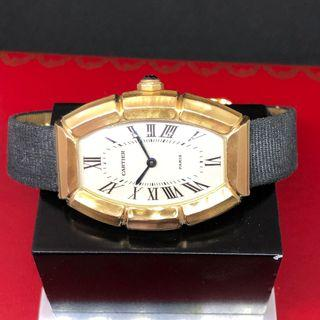 Cartier Paris Tonneau Bamboo 18k gold