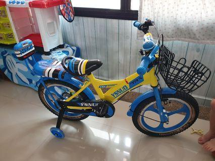 Kids Bicycle with back seat