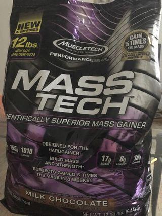 Muscletech mass tech 12 lbs brand new