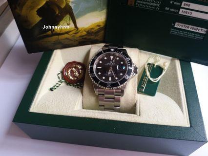 Rolex 16610 Submariner M頭888