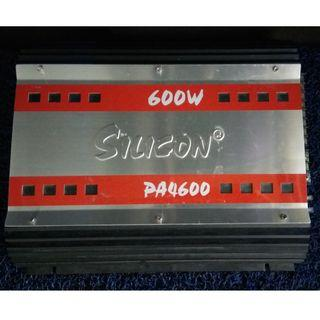 "Silicon 600W ""3-Channel"" Amplifier"