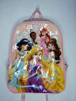 Disney Princess Backpack with Lunchbag