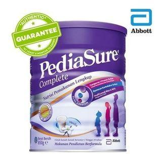 Susu formula Pediasure 850g to let go