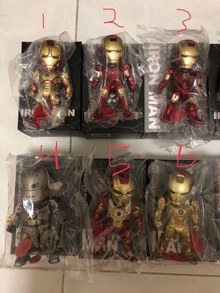 🚚 Iron Man Egg Attack