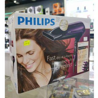 PHILIPS THERMOPROTECT IONIC HAIRDRYER HP-8233