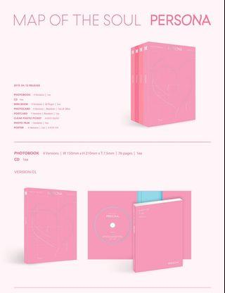 [Incoming Instocks] BTS Map of the Soul Persona Albums (unsealed)