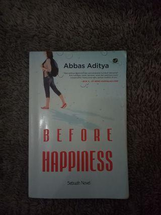 Novel Before happiness