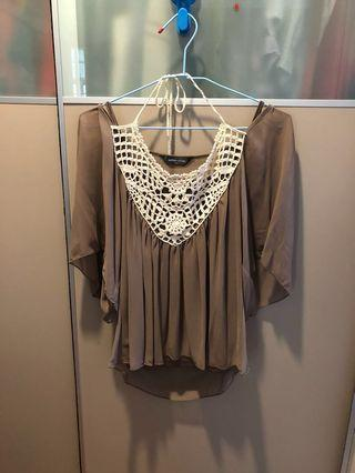 Blouse with camisole