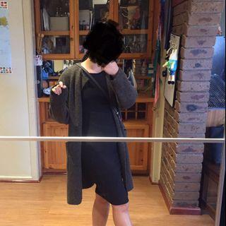 Kookai knit bodycon dress