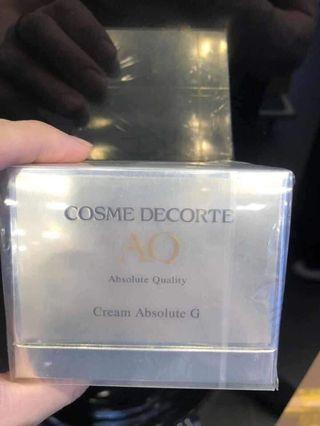 黛珂AQ Cream Absolute G 完美及致晚霜