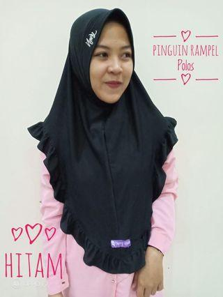 Hijab Instan/pinguin rempel polos