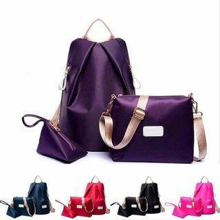 Beg 3 in 1 sling bag, backpack bag, purse