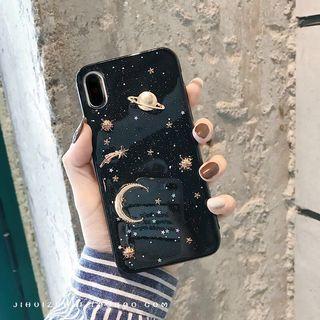 iPhone X Galaxy casing