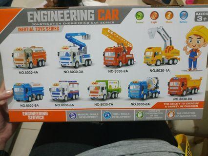 Mainan enginering car