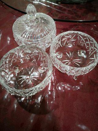 Giving away for free! Decor Glass Bowls (x3) #ENDGAMEyourEXCESS