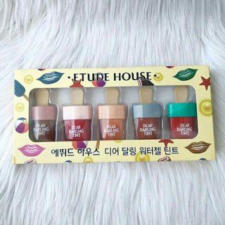 Liptint etude ice cream