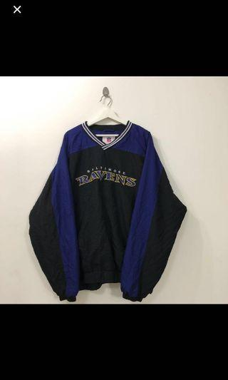 VINTAGE BALTIMORE RAVENS PURPLE PULLOVER