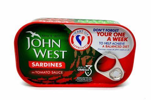 John West 茄汁沙甸120克