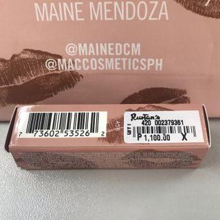 Maine Mac Lipstick