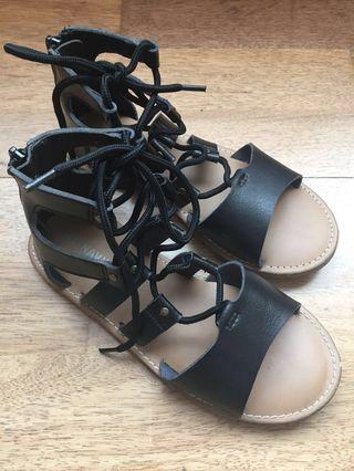 Old Navy Girl Lace Up Sandals