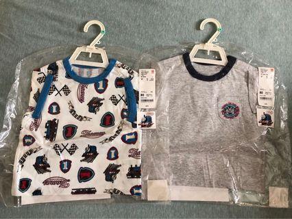全新未開封 Thomas&Friends短袖T恤2件