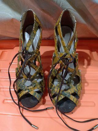 Charles & keith gladiator heels