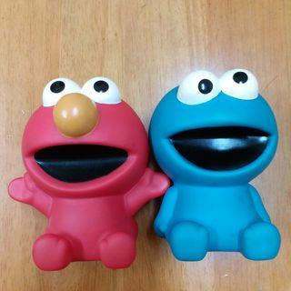 芝麻街 Sesame Street Elmo & Cookie 貯金錢箱