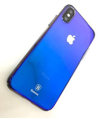 iPhone X Xs 保護套 保護殼 送 透明玻璃保護貼  Full Protection Mobile Cover case For iPhone X Xs ,  Free Premium 9H Hardness Tempered Glass Clear Screen Protector ( Joyroom )