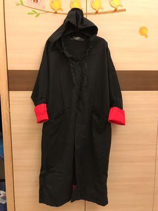 長版設計款吸血鬼風格大衣外套