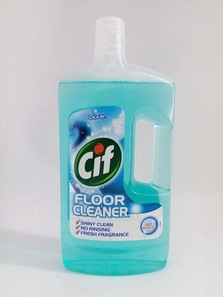 CIF 海洋味地板清潔劑1公升