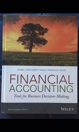 Financial Accounting: Tools for Business Decision-Making, 6th Canadian