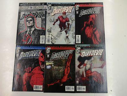 Daredevil (1998 2nd Series) Out Comics Set