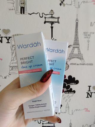 NEW Wardah Perfect Bright Tone Up Cream