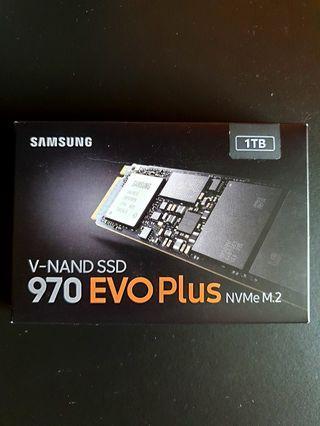 New Samsung 970 Evo Plus 1TB M.2 NVMe SSD