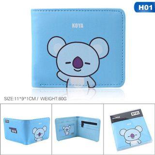BTS BT21 Wallet
