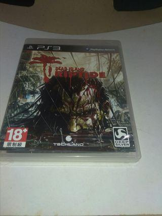 PS3 Games: Dead Island Riptide