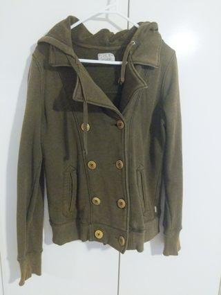 Polo Ralph Lauren Olive Double Breasted Jacket