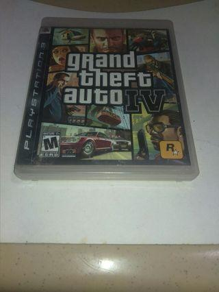 PS3 Games: Grand Theft Auto IV