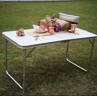🚚 Portable Foldable Height and Adjustable Table 120 * 60 cm