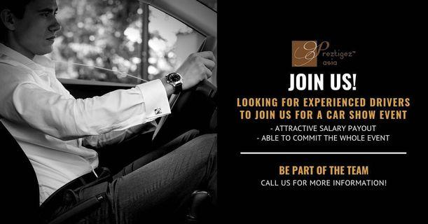 Driver needed- Part and Full time