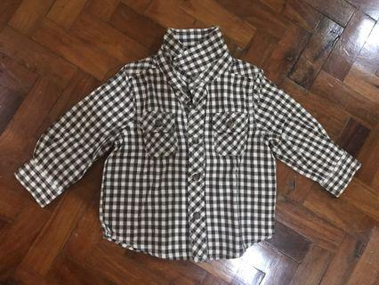 COD available: Checkered Long Sleeves for Babies