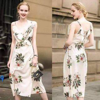 US Inspired Raffles Floral Dress
